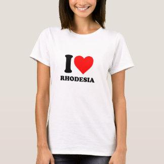 I love Rhodesia cool T-shirt
