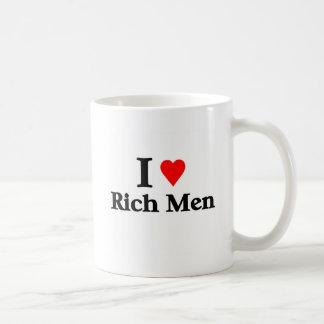 I love rich men coffee mug
