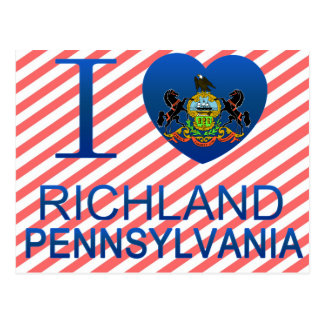 I Love Richland, PA Postcard