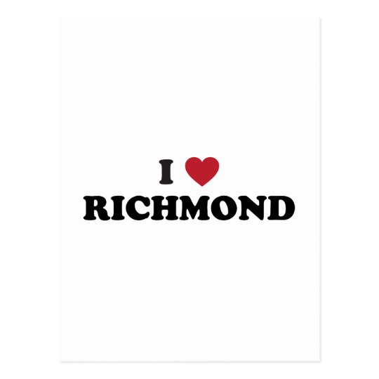 I love Richmond Virginia Postcard