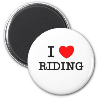 I Love Riding Magnet