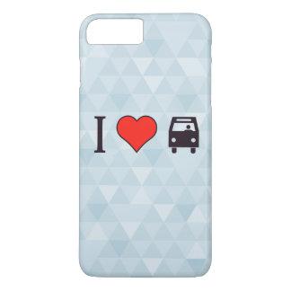 I Love Riding The Bus iPhone 7 Plus Case