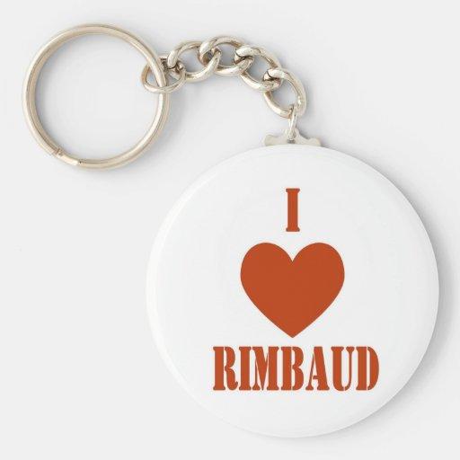 I love Rimbaud Keychains