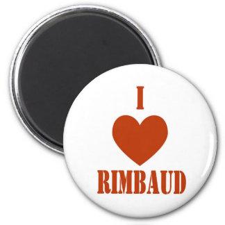 I love Rimbaud Fridge Magnet