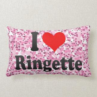 I love Ringette Lumbar Pillow