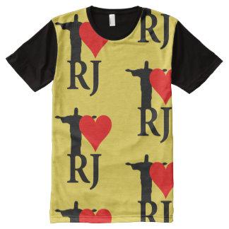 I Love Rio de Janeiro Carnival Edition All-Over-Print T-Shirt