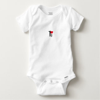 I Love River of Janerio Brazil Series Baby Onesie