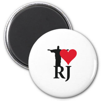 I Love River of Janerio Brazil Series Magnet