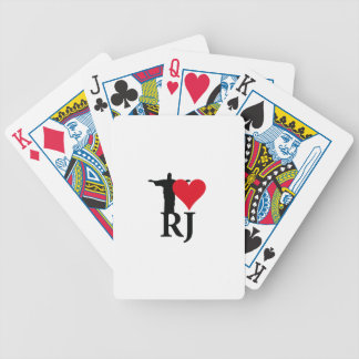 I Love River of Janerio Brazil Series Poker Deck