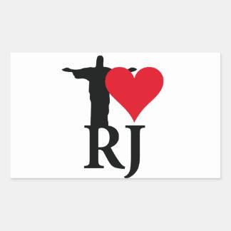 I Love River of Janerio Brazil Series Sticker
