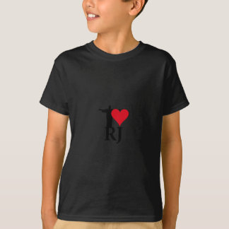 I Love River of Janerio Brazil Series T-Shirt