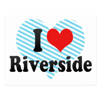I Love Riverside Postcard