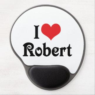 I Love Robert Gel Mouse Pad