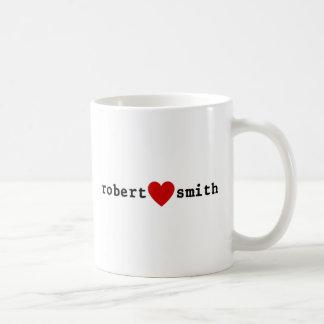 I Love Robert Smith Coffee Mug