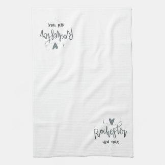 I Love Rochester Kitchen Towel