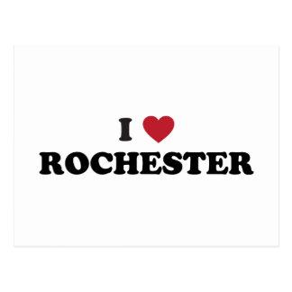 I Love Rochester Minnesota Postcard