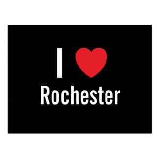 I love Rochester Postcard