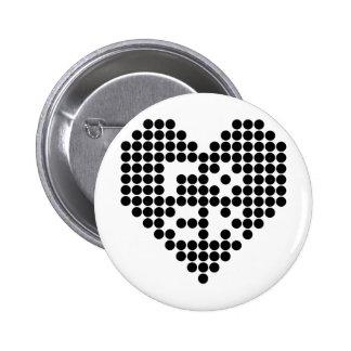 I love rock 2 inch round button