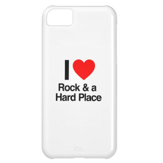 i love rock and a hard place iPhone 5C covers