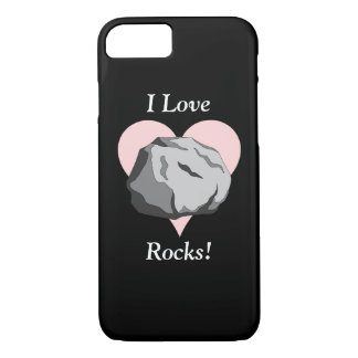 I Love Rocks! iPhone 7 Case