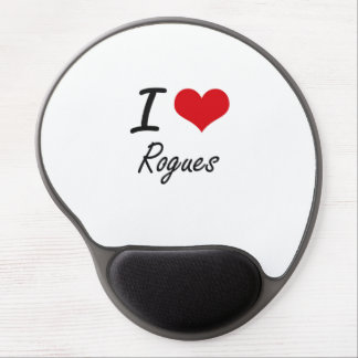 I Love Rogues Gel Mouse Pad