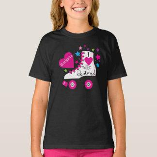 I Love Roller Skating T-Shirt - black