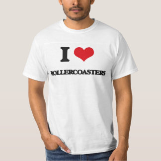 I Love Rollercoasters T-Shirt