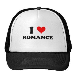 I Love Romance Hat