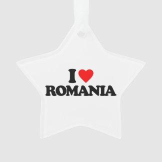 I LOVE ROMANIA ORNAMENT