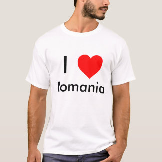 I love Romania shirt
