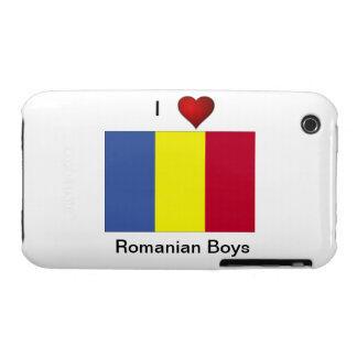 """I love Romanian Boys"" iPhone 3 Cover"
