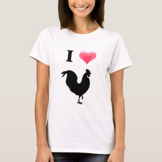 I love rooster T-Shirt