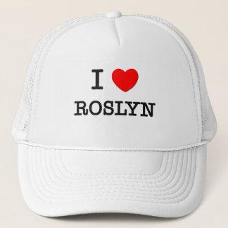 I Love Roslyn Trucker Hat