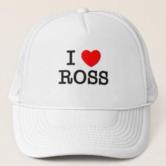I Love Ross Trucker Hat