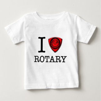 I love Rotary Engine Baby T-Shirt