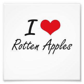 I love Rotten Apples Photograph