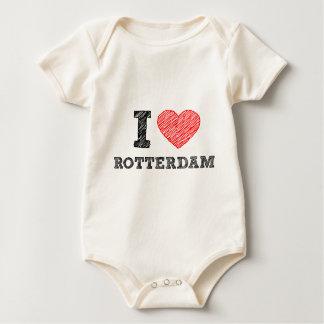 I-love-Rotterdam Baby Bodysuit