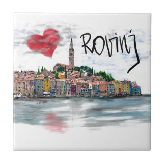 I love Rovinj Tile