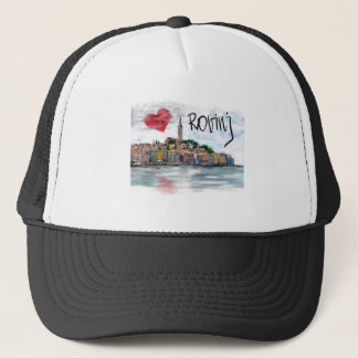 I love Rovinj Trucker Hat