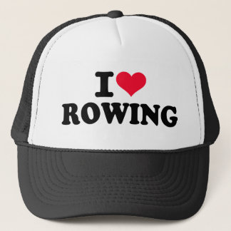 I love Rowing Trucker Hat