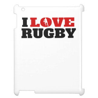 I Love Rugby Cover For The iPad 2 3 4