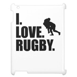 I Love Rugby iPad Cover