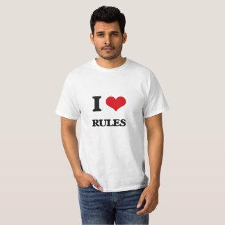 I Love Rules T-Shirt
