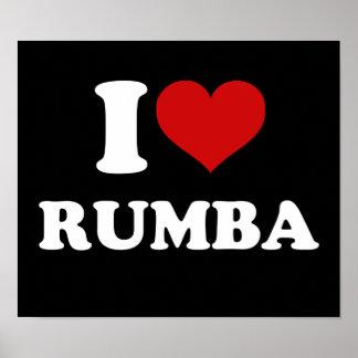 I Love Rumba Poster