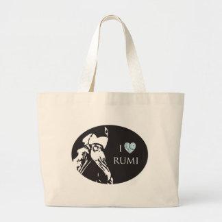 I Love Rumi Tote Bag
