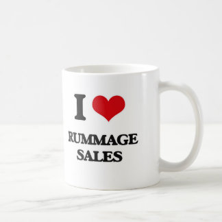 I Love Rummage Sales Coffee Mug