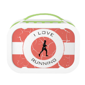 I LOVE RUNNING LUNCH BOX