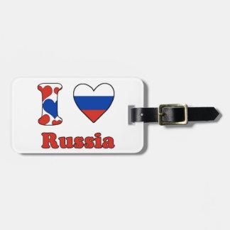 I love Russia Luggage Tag