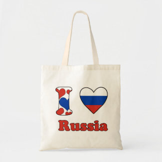 I love Russia Tote Bag