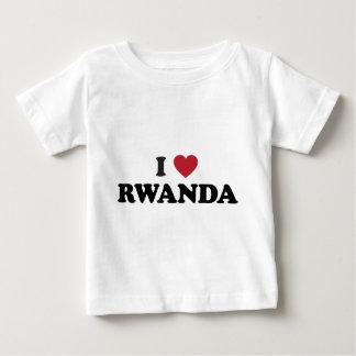 I Love Rwanda Baby T-Shirt